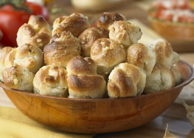Mini Garlic Knots